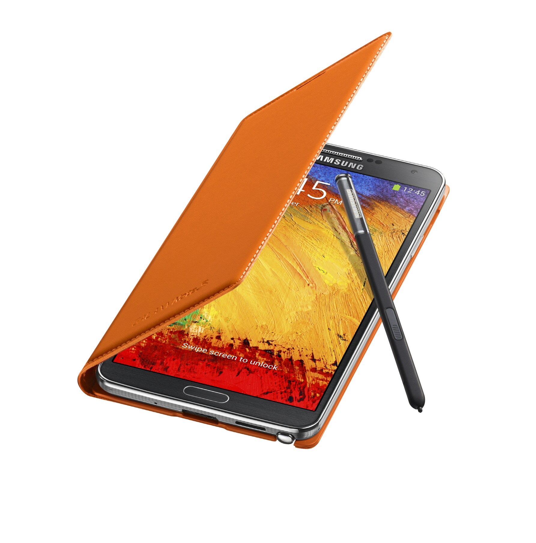 galaxy-note3-flipcover_004_open-pen_wild-orange