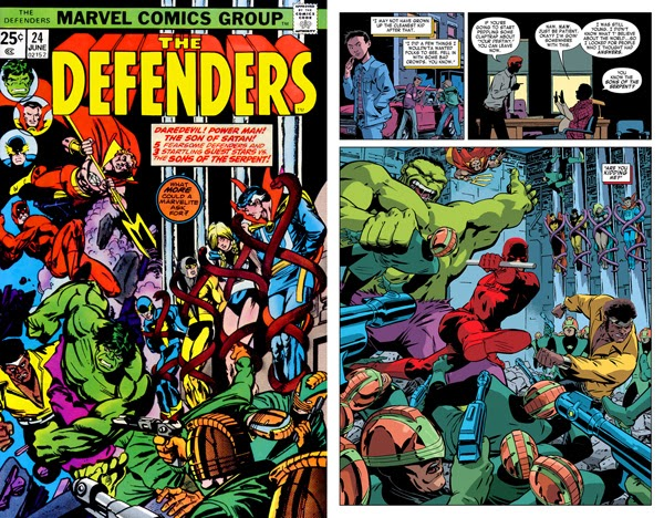 Defenders 25 - Daredevil v3 28 mini