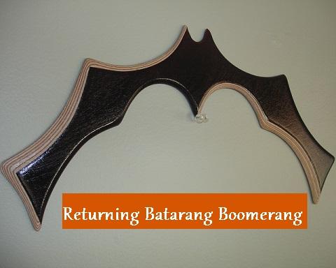 The Returning Batarang Boomerang