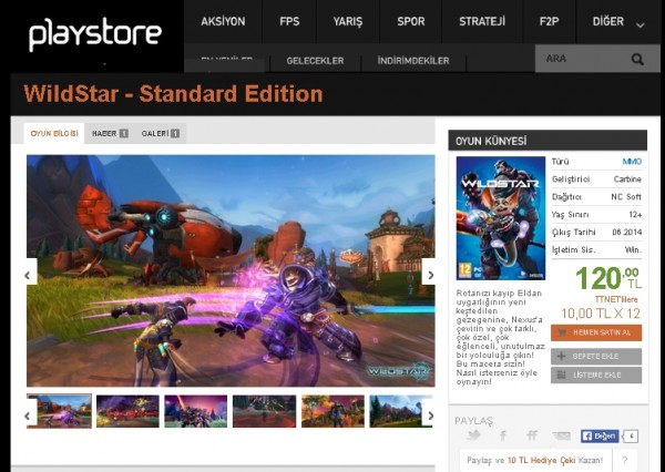 wildstarplaystore