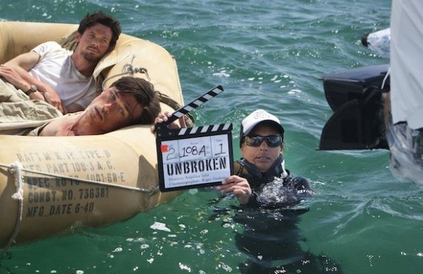 Publicity stills photography on the set of NBC Universal's movie 'Unbroken'