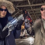 "The Flash -- ""Revenge of the Rogues"" -- Image FLA110B _0393b -- Pictured (L-R): Wentworth Miller as Leonard Snart/Captain Cold and Dominic Percell as Mick Rory/Heat Wave -- Photo: Cate Cameron/The CW -- © 2015 The CW Network, LLC. All rights reserved."