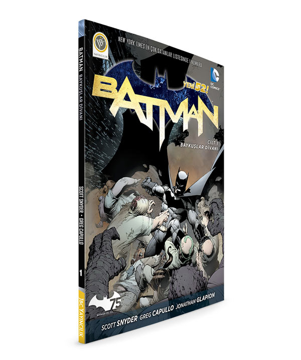 Batman-V1-Court-Of-Owls-3D-Kapak