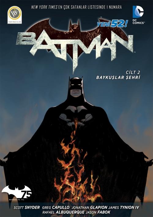 Batman Baykuslar Sehri Kapak - kucukaa