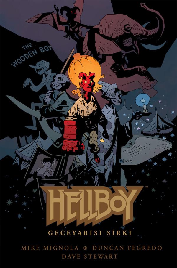 Hellboy Gece Yarısı Sirki (Kapak)