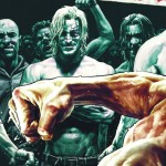 FOR SUNDAY PULSE - FIGHT CLUB - CHUCK PALAHNIUK - HANDOUT  caption: FIGHT CLUB 2 issue 1 ultra variant cover by Lee Bermejo