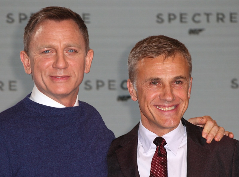 James Bond 'Spectre' film photocall Featuring: Daniel Craig,Christoph Waltz Where: London, United Kingdom When: 04 Dec 2014 Credit: Lexi Jones/WENN.com