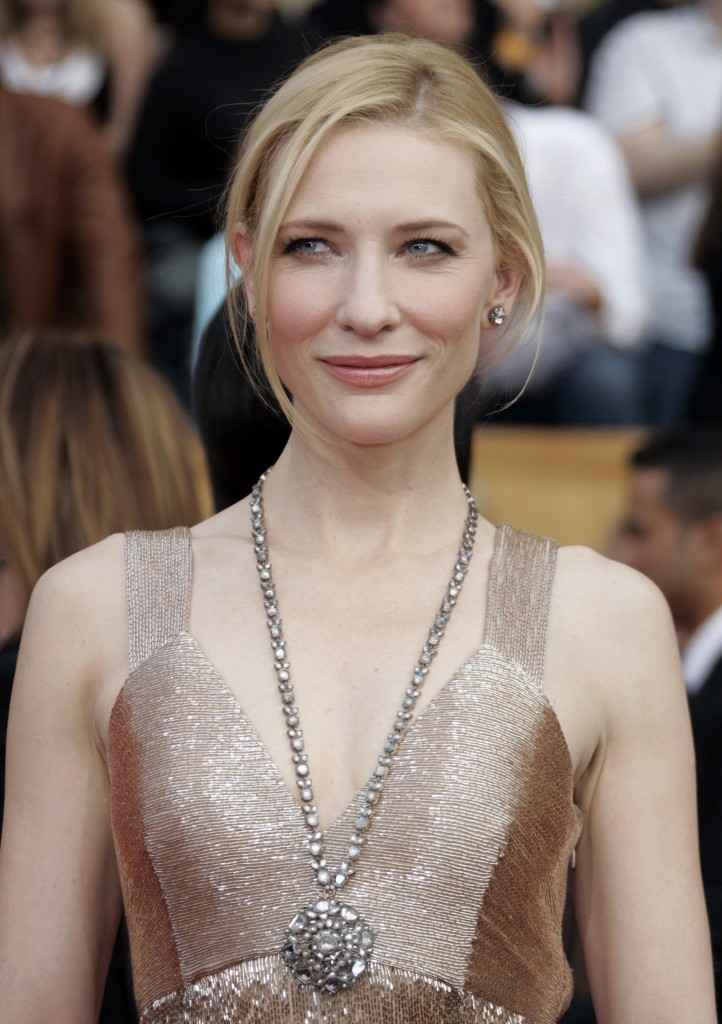 Australian actress Cate Blanchett arrives at the 13th Annual Screen Actors Guild Awards in Los Angeles January 28, 2007.     REUTERS/Lucy Nicholson (UNITED STATES) FILM-SAG/