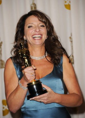 HOLLYWOOD, CA - FEBRUARY 27:  Director Susanne Bier, winner of the award for Best Foreign Film for 'In a Better World', poses in the press room during the 83rd Annual Academy Awards held at the Kodak Theatre on February 27, 2011 in Hollywood, California.  (Photo by Jason Merritt/Getty Images)