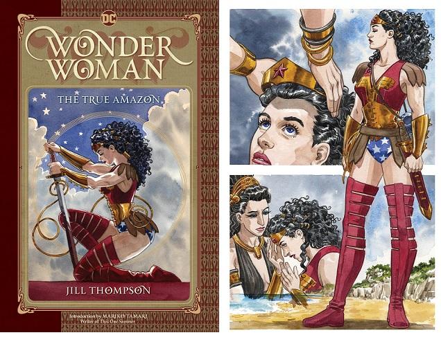 Wonder Woman The True Amazon combo