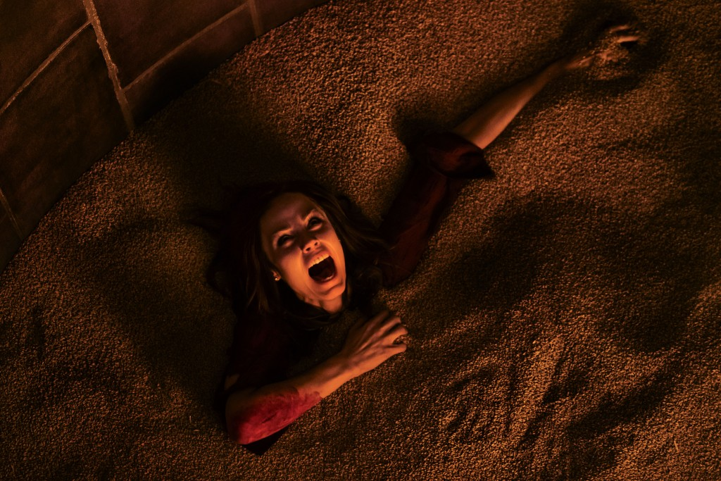 Laura Vandervoort stars as 'Anna' in JIGSAW