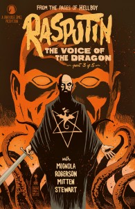 Rasputin The Voice of the Dragon Cover 1 C