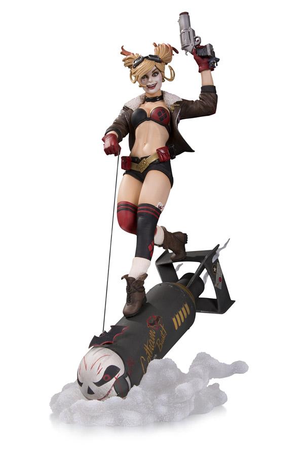 DC-Bombshells-Harley-Quinn-Deluxe-Statue